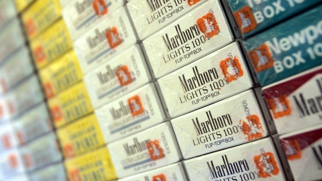 Russia considers banning cigarettes for some