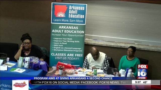 Little Rock Event Helps Those With Criminal Past - Story | Fox16