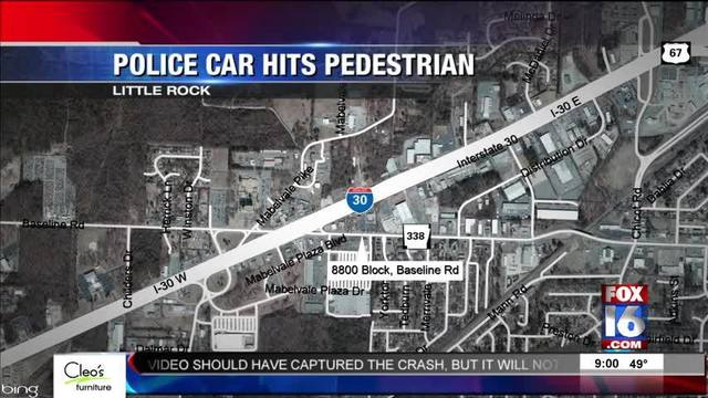 Woman Critical After Being Hit by LR Police Car - Story | Fox16