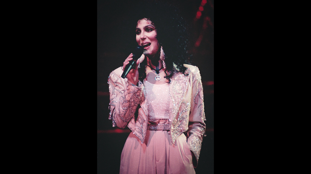 Cher on 1990 Heart of Stone tour11078411