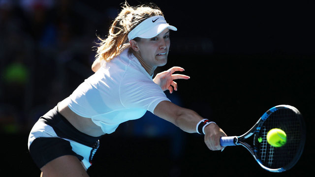 Eugenie Bouchard takes fan on date after Super Bowl bet