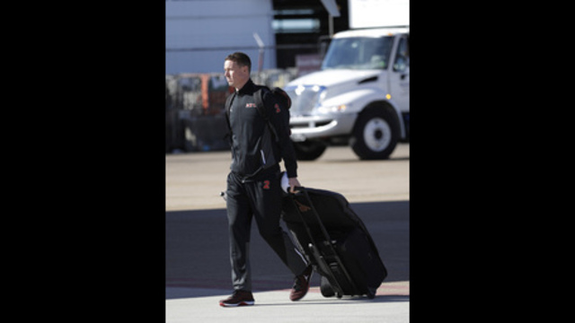 In enemy territory, nary a bad word about Falcons QB Ryan