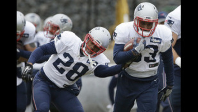 Health, bonding key to Pats RBs' success