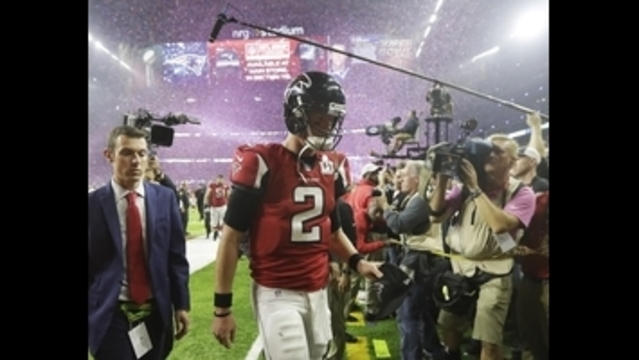 Falcons head home after blowing 25-point lead in Super Bowl