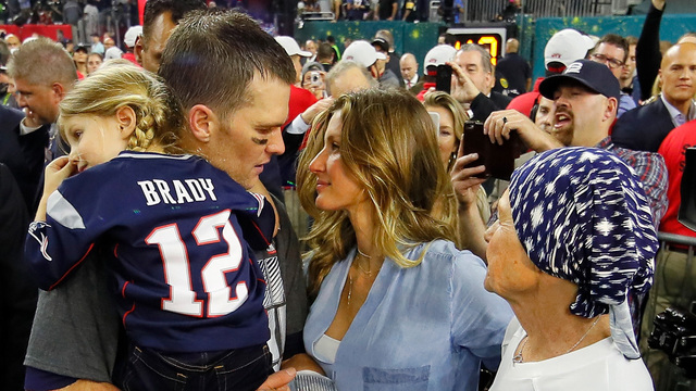 Brady earns 4th Super Bowl MVP trophy with epic comeback