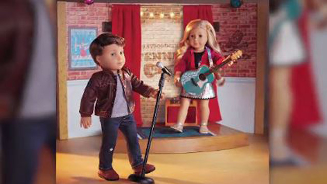 American Girl's newest doll is...a boy?