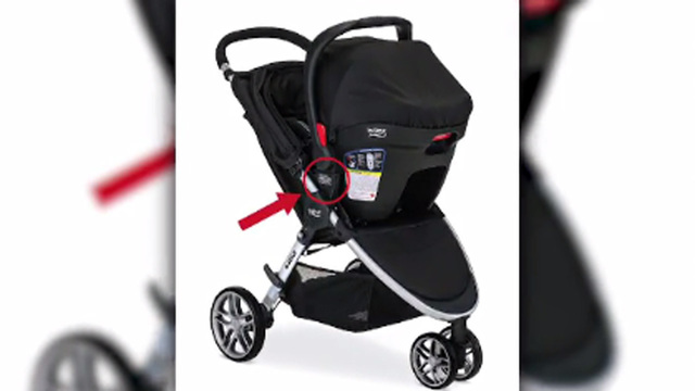 Britax recalls more than 700,000 strollers due to fall hazard