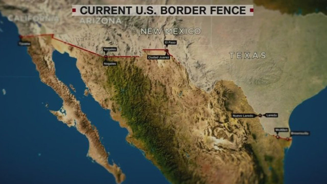 Trump wants a wall. Border experts want a fence
