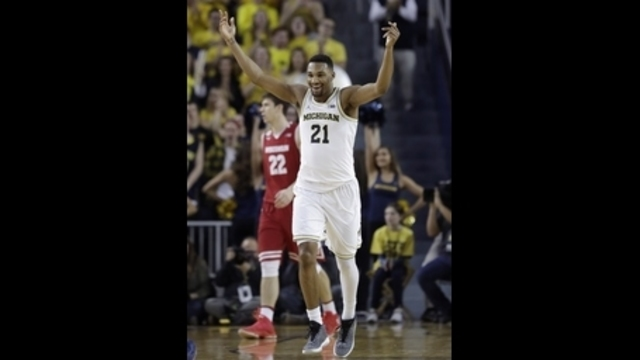 Surging Michigan downs No. 11 Wisconsin