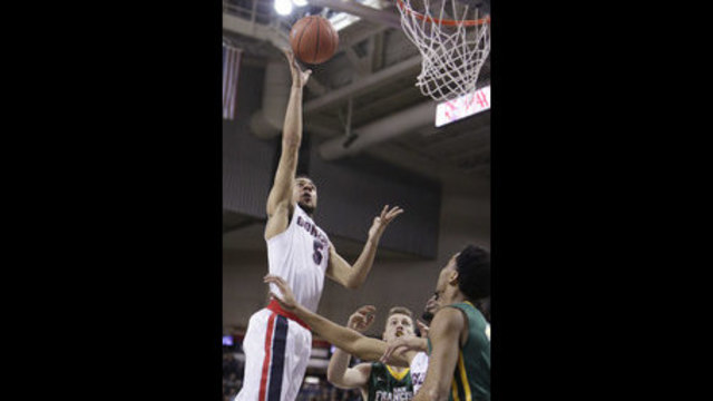 Top-ranked Zags easily improve to 27-0