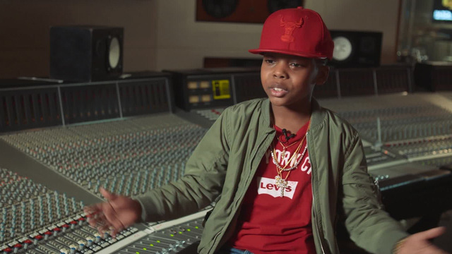 10-year-old rapper seeks to spread 'positive hip-hop'
