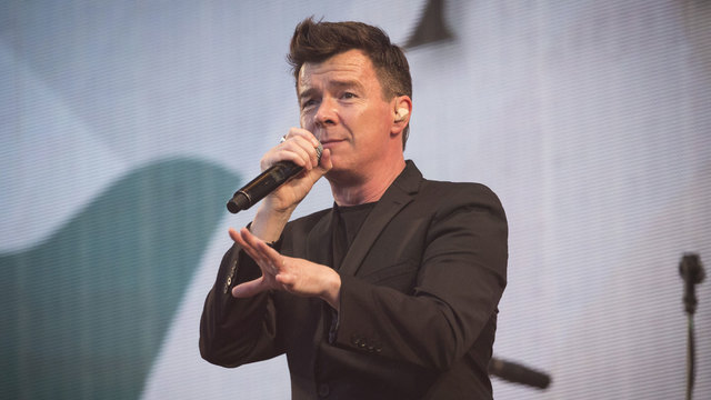 Rick Astley is on a (Rick) roll