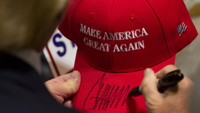 How the Trump hat became an icon