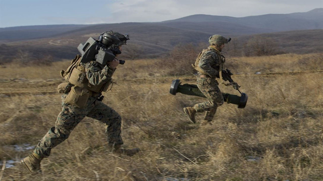US troops deploy to Bulgaria as part of NATO operation to support Eastern European allies