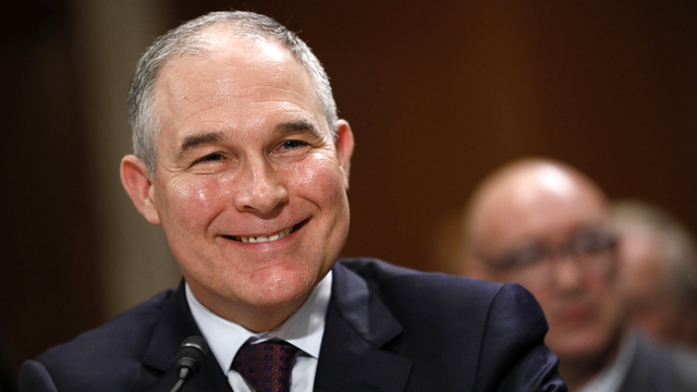 EPA pulls agents from criminal investigations to guard Pruitt