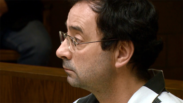 Ex-USA Gymnastics doctor apologizes, pleads guilty to criminal sexual conduct