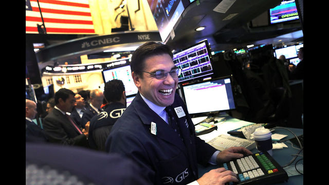 12 in a row: Dow matches longest streak of records ever