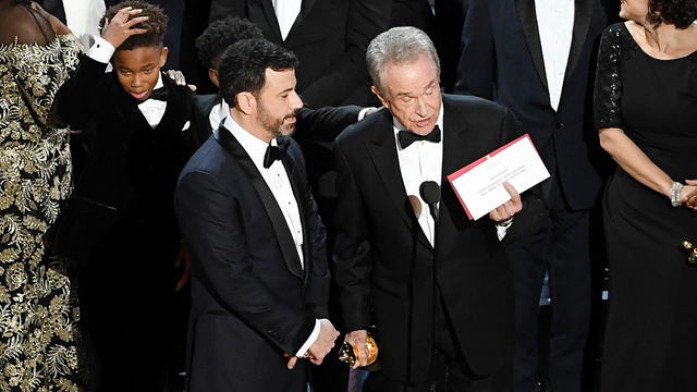 Oscars have crazy ending, but second lowest rating in its history