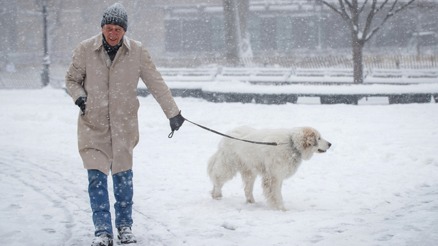 Blizzard watch: Spring snowflakes, not flowers, to hit Northeast