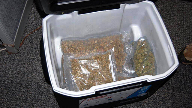 Forgotten weed stash donated to Goodwill