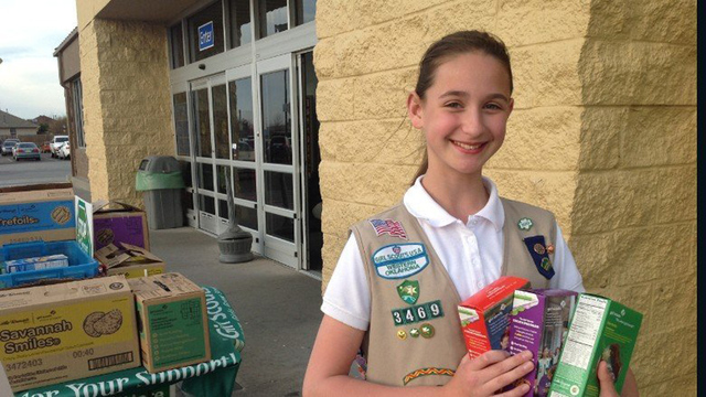 5 business tips from America's top Girl Scout Cookie seller
