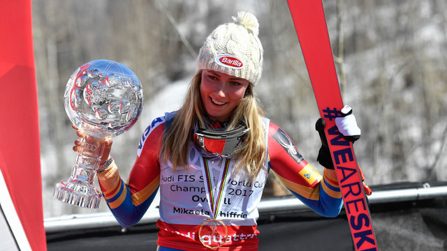 Mikaela Shiffrin: The team behind skiing's new queen