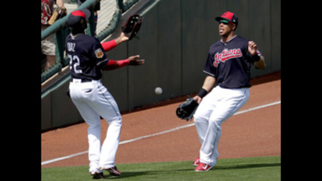 Back from shoulder woes, Indians' Brantley gets 2 hits