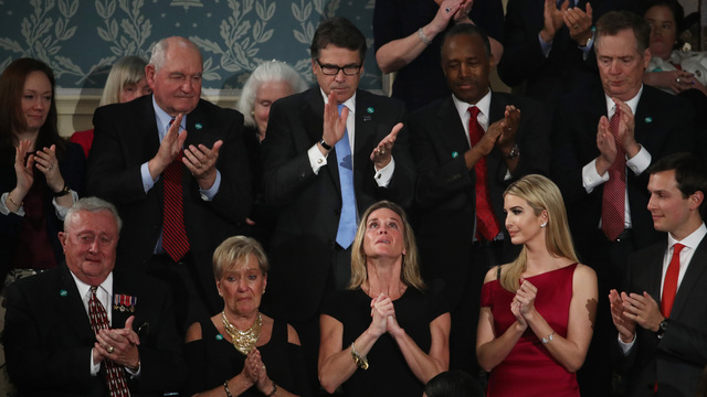 Ivanka, Donald Trump Delivers Address To Joint Session Of Congress65126834