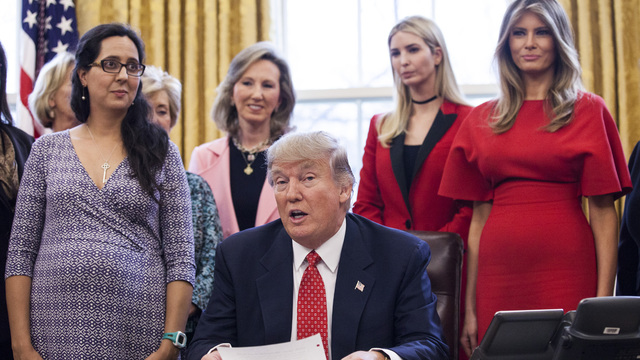 Ivanka, Melania, President Trump Signs Two Bills Aimed At Enabling Women's Careers65409793