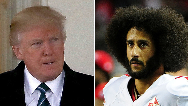 Trump credits his Twitter wrath for Kaepernick's unemployment