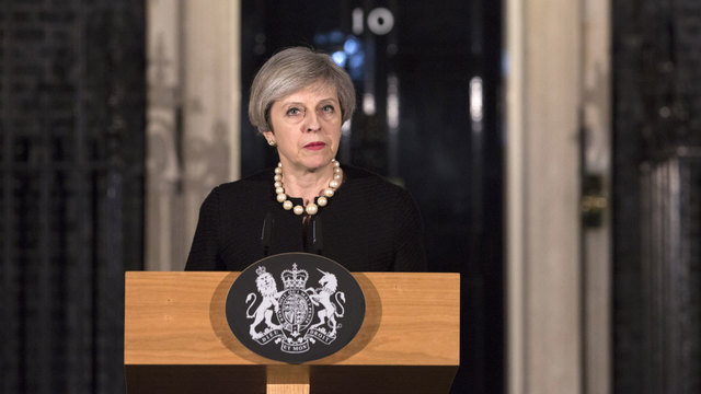 Theresa May makes statement on London terror attack84177756