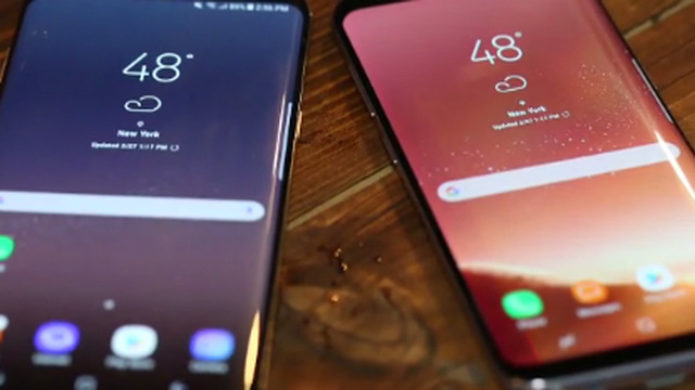 Samsung's Galaxy S8 is now available