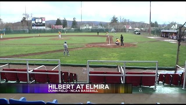 Elmira College Baseball Falls To Hilbert
