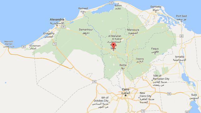 At Christian Churches In Egypt Kill Dozens On Palm Sunday - Map of egypt 2017