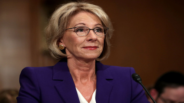 DeVos freezes rules that protect student borrowers