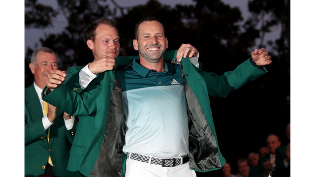 Sergio Garcia Green Jacket09990633