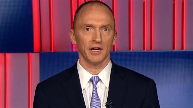 Carter Page met with Russian official during 2016 trip to Moscow