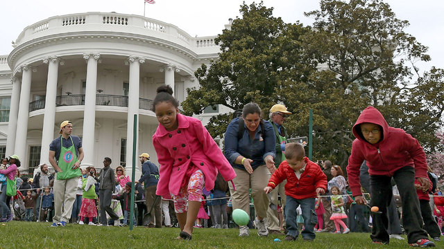 Easter fun facts - White House egg roll44290207