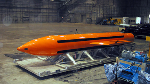 US drops largest non-nuclear bomb in arsenal in Afghanistan