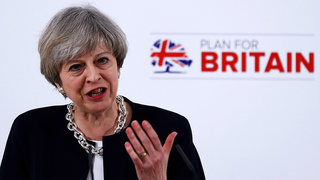 UK prime minister defends decision to seek snap election