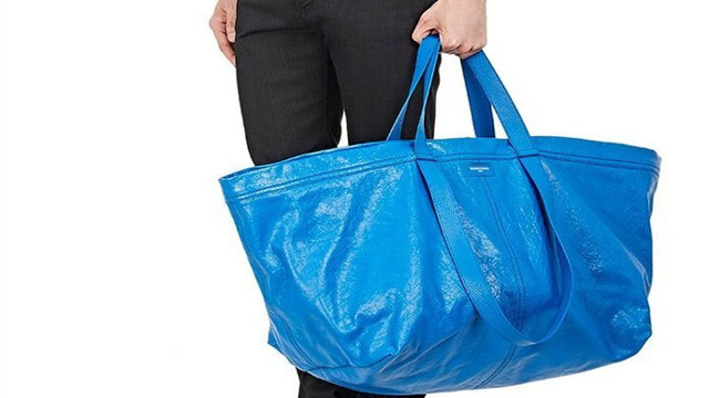 Balenciaga's $2,145 bag is just like Ikea's 99 cent tote