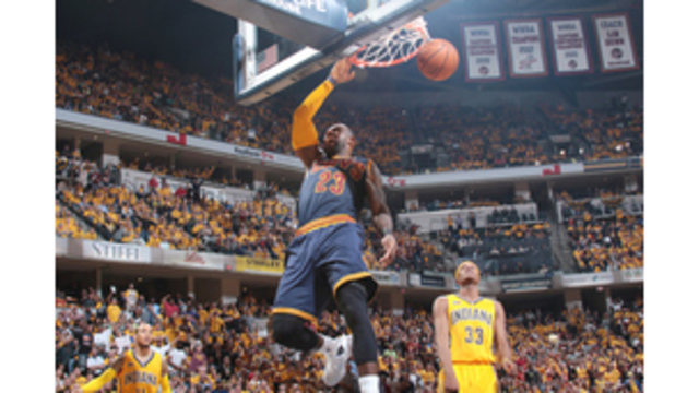 Cavs come from 26 down, lead Pacers 3-0