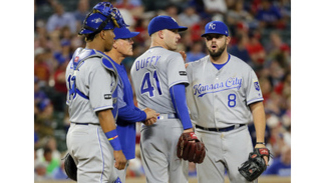DeShields RBI single in 13th gives Texas 1-0 win over Royals
