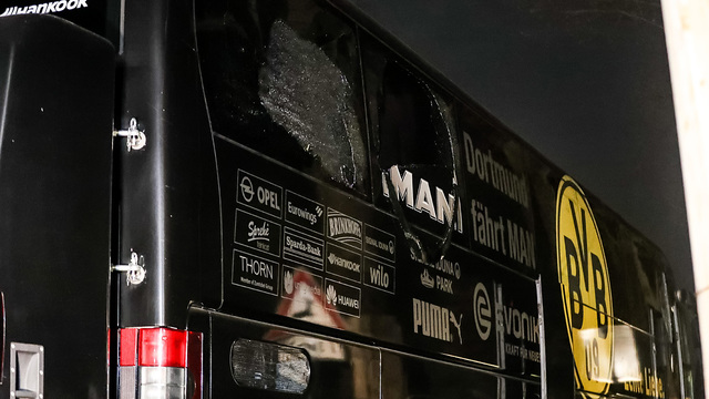 Man arrested over Borussia Dortmund bus attack
