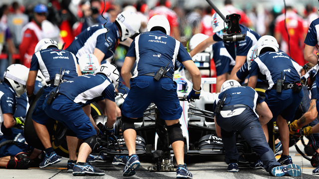 F1: The art of the two-second pit stop