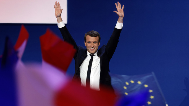 France's Macron vows to fight 'threat of nationalists'