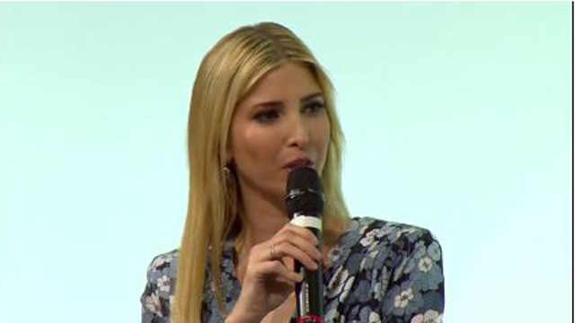 videos politics ivanka trump berlin panel crowd sotcnn