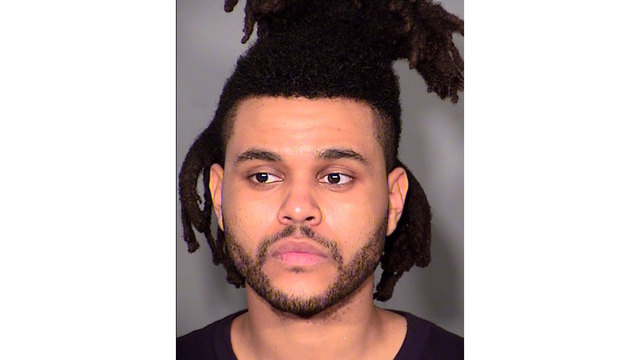 celeb mugshots - The Weeknd76400776