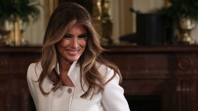 Melania Trump makes her international debut as first lady