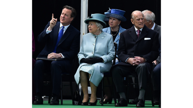 David Cameron, Queen Elizabeth II, Prince Philip86493951